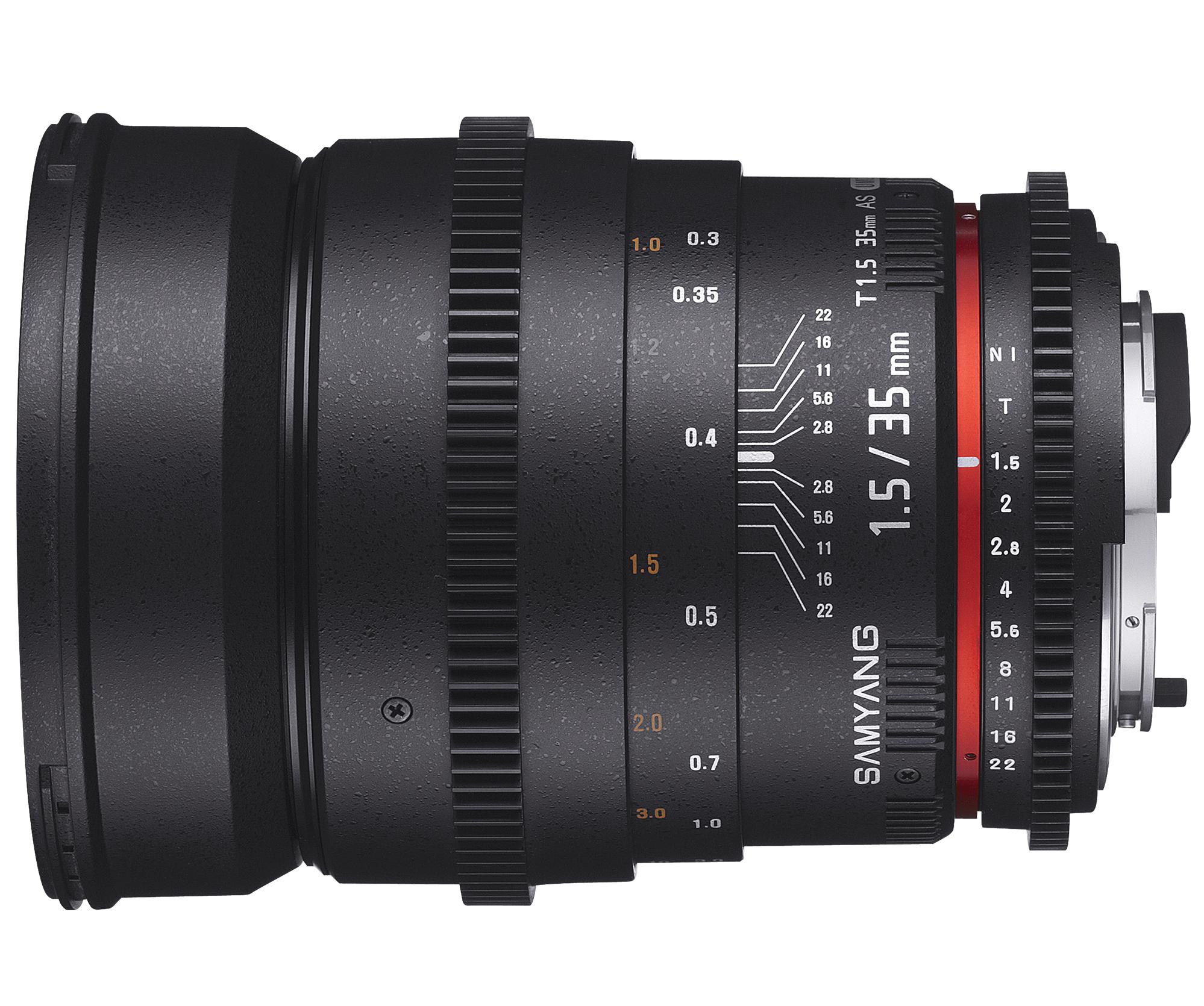 35mm SAMYANG