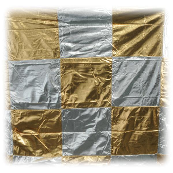 8×8-Gold-Slvr-Lame