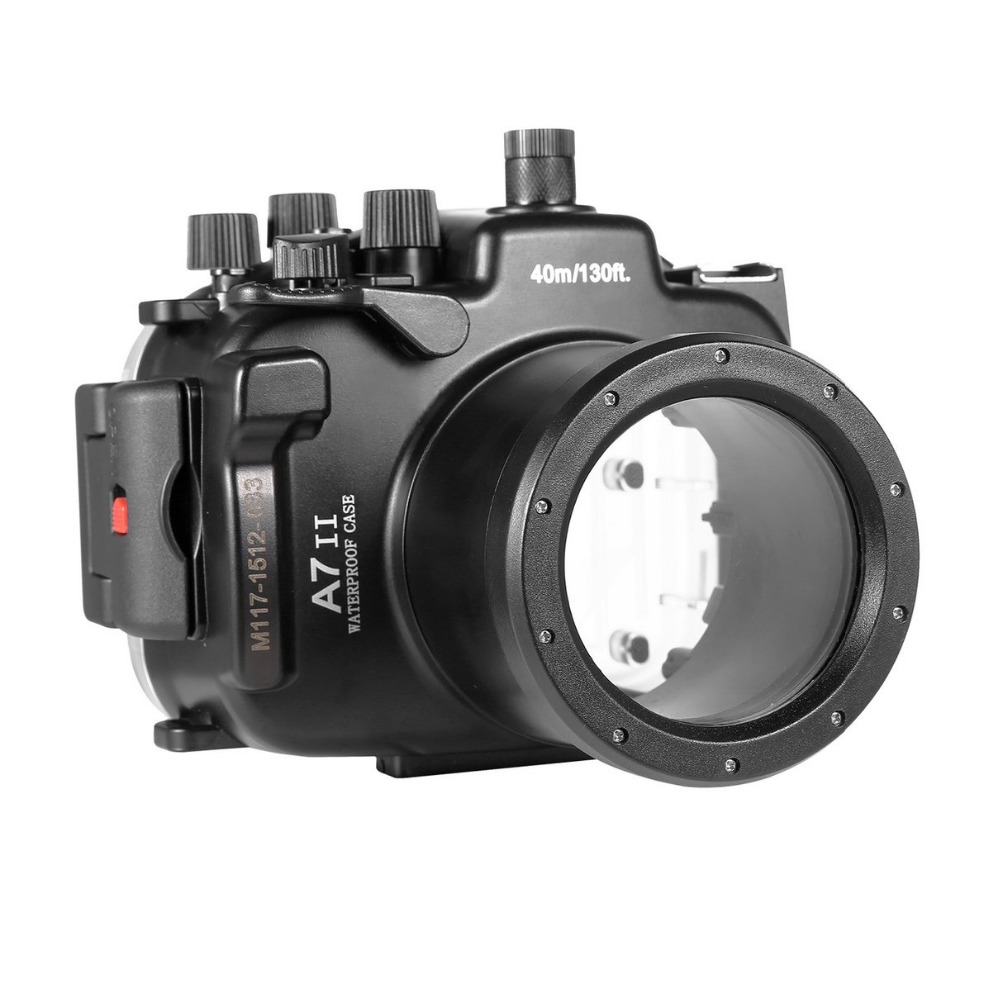 For-Sony-A7-II-A7R-II-28-70mm-Meikon-Waterproof-Housing-Case-40M-130ft-Diving-Underwater